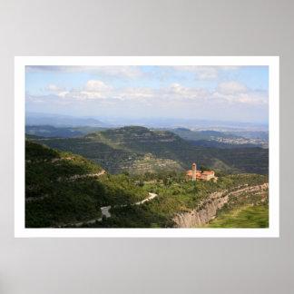 Sant Benet de Montserrat Posters