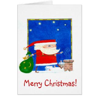 Sant Claus Christmas Card