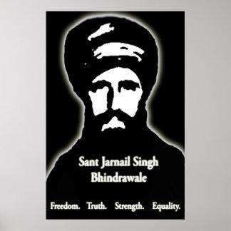 Sant Jarnail Singh Bhindrawale Poster