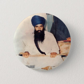 Sant Jarnail Singh Ji Khalsa Bhindranwale Pinback Button