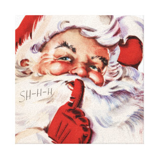 Santa 002 canvas print