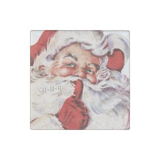 Santa 002 stone magnet