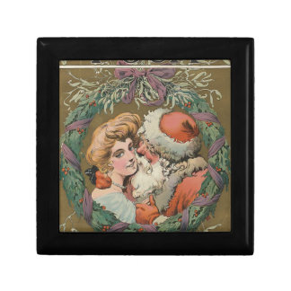 Santa 1905 Puck Cover Jewelry Box