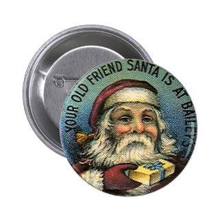 Santa 1 - Botón Pins