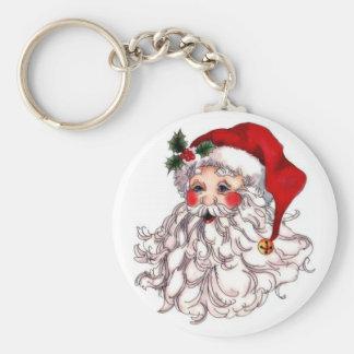 Santa 1 keychain