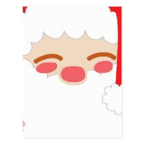 Santa 1 postcard