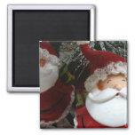 Santa 2 2 inch square magnet