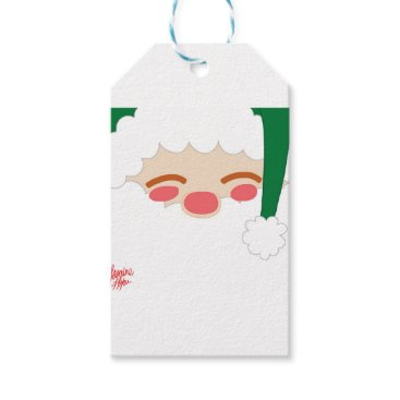 jasmineflynn Santa 2 gift tags