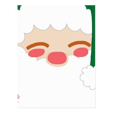 jasmineflynn Santa 2 postcard
