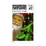 Santa 3 postage stamp