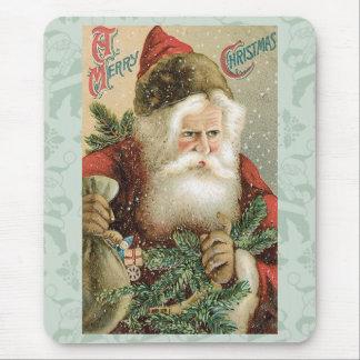 Santa - A Merry Christmas Mouse Pad
