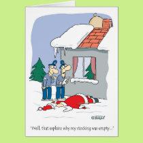 Santa accident card