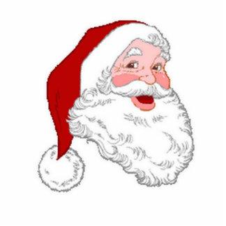 Santa Acrylic Ornament