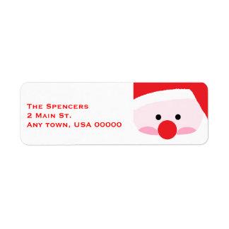 """Santa"" Address Labels"