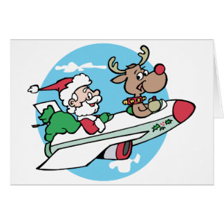 Santa Airways Card