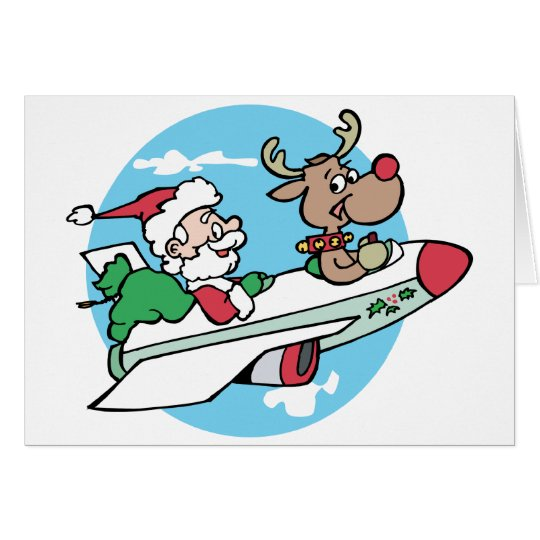 Santa Airways Card