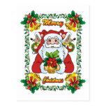 Santa alegre postales
