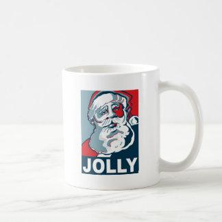 Santa alegre taza de café