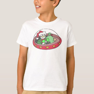 Santa Alien - Are You On His List T-Shirt