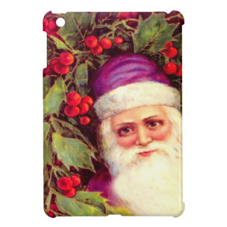 Santa among the berries cover for the iPad mini