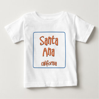 Santa Ana California BlueBox Baby T-Shirt