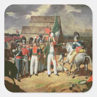 Santa Ana desafía a las tropas españolas Colcomania Cuadrada