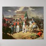Santa Ana desafía a las tropas españolas Póster