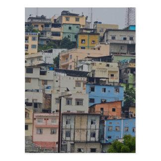 Santa Ana Hill - Guayaquil Ecuador Postcard
