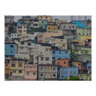 Santa Ana Hill - Guayaquil Ecuador Poster