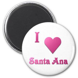 Santa Ana -- Rosas fuertes Imán Redondo 5 Cm