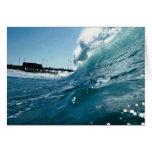 Santa Ana winds sculpt ocean waves Cards