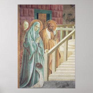 Santa Ana y Joaquín en la presentación de Póster