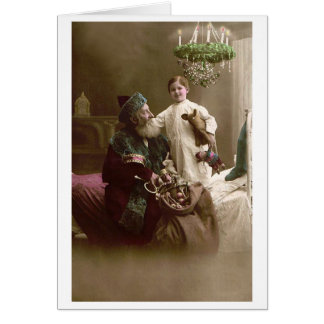 Santa and Child Card