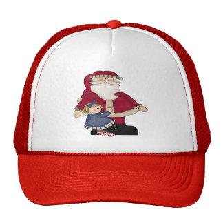 Santa and Christmas Hat