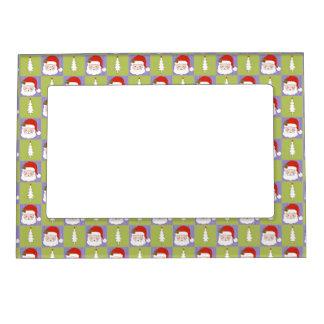 Santa and Christmas tree 2 Magnetic Frame