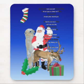 Santa and Friends2 mousepad