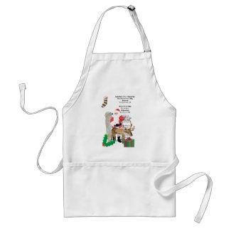 Santa and Friends 2 apron
