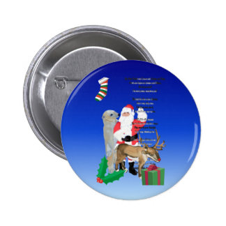 Santa and Friends 2 Buttons