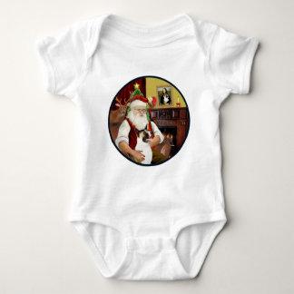Santa and his Akita T-shirt
