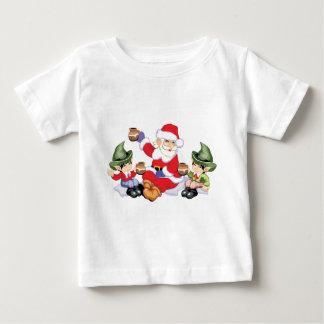 Santa and his Elves Baby T-Shirt