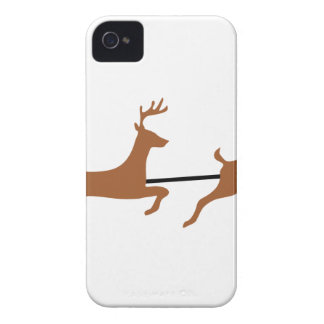 Santa And His Sleigh iPhone 4 Case