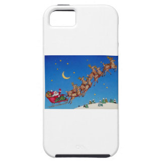 Santa and his Sleigh iPhone SE/5/5s Case