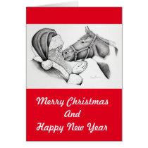 Santa-and-Horse-1 Card