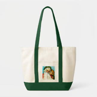 Santa and Me Tote Bag