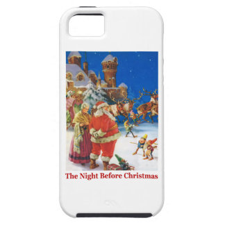 Santa and Mrs. Claus On the Night Before Christmas iPhone SE/5/5s Case