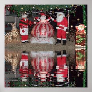 Santa and Mrs Claus Print