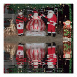 Santa and Mrs Claus Print