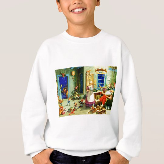 Santa and Mrs. Claus Relax Christmas Night Sweatshirt