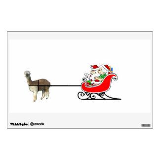 Santa And Mrs. Claus Wall Decal