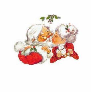Santa and Mrs Clause Cutout